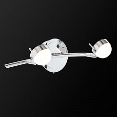 Спот  IDLamp Savini 348/2A-Chrome
